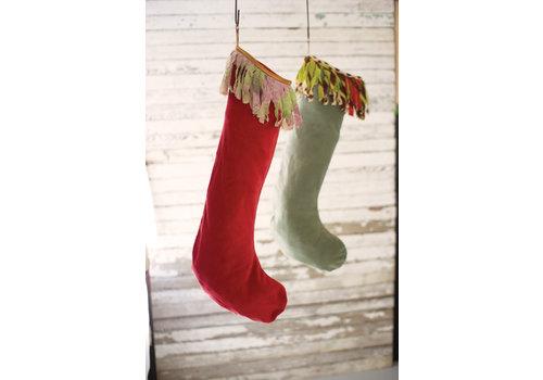 Kalalou Giant Velvet Stockings