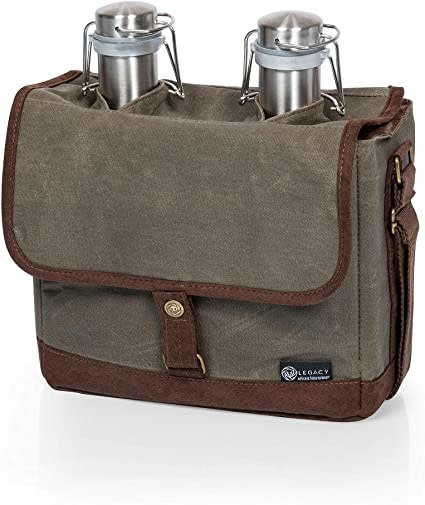 picnic time Insulated Double Growler Tote