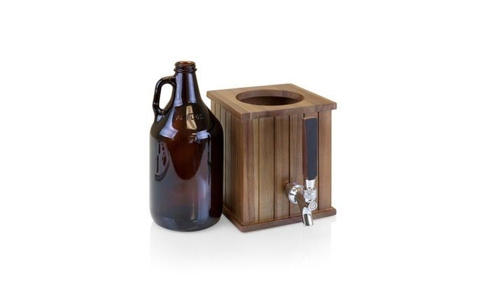 picnic time Growler Tap with Glass Growler