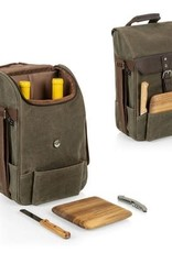 picnic time WIne and Cheese Cooler Bag