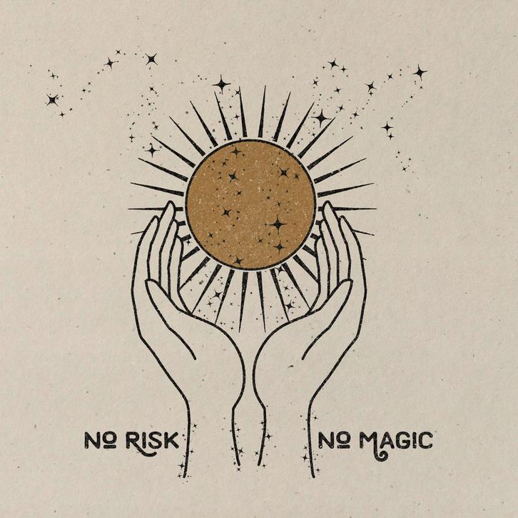 colorbloKC-Faire colorbloKC No Risk. No Magic Print