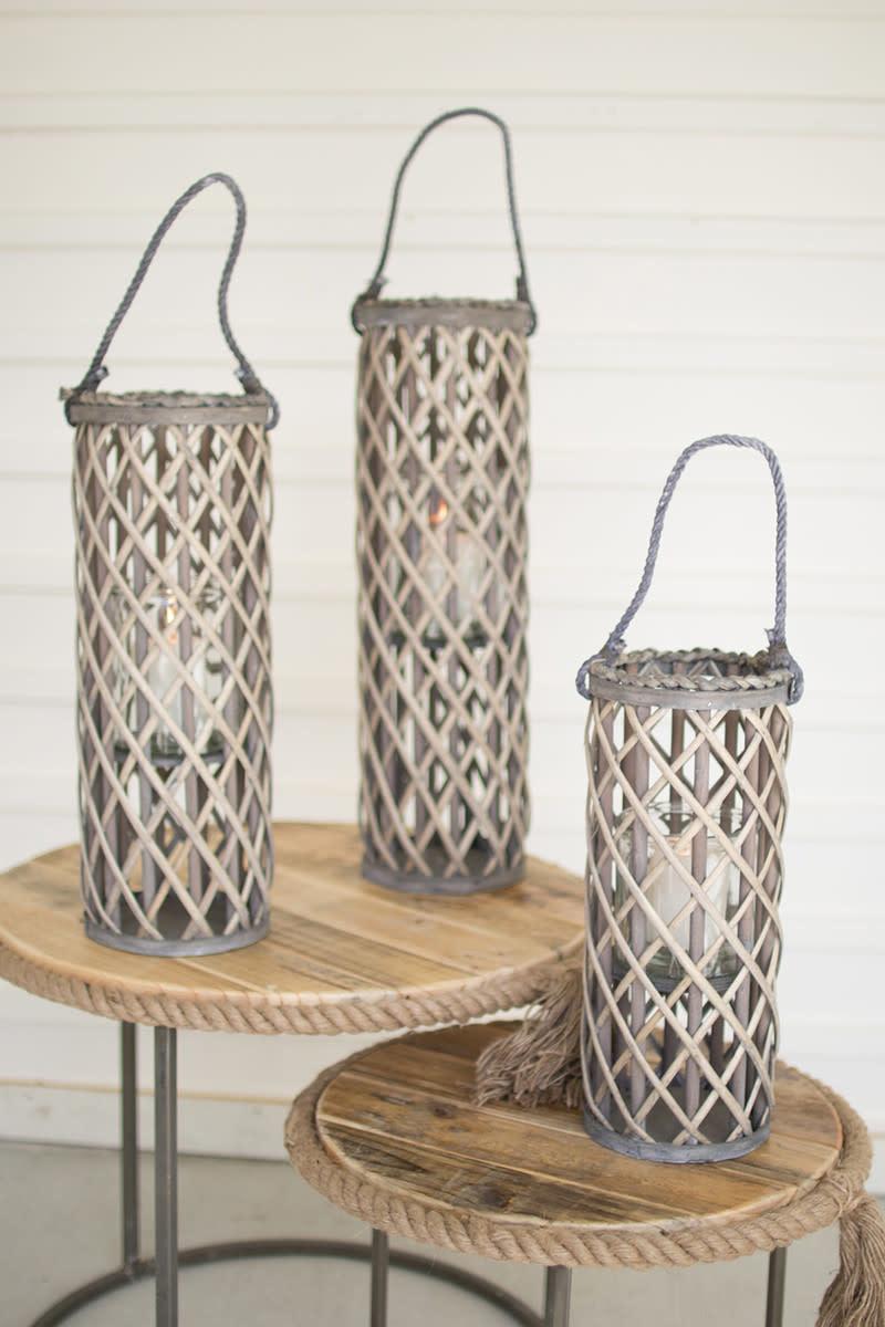 Kalalou Willow Lanterns