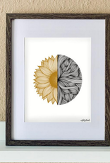 "made by nat Made by Nat ""Sunflower Waves"" Print"