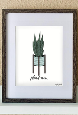 "made by nat Made by Nat ""Snake Plant Mom"" Print"