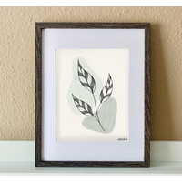 "Made by Nat ""Calm Leaves 1"" Print"