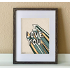 """made by nat Made by Nat """"I Super Love You"""" Print"""