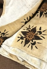Large Mud Cloth- Flower
