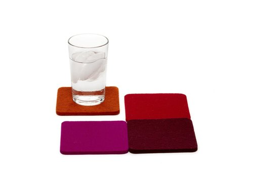 Graf and Lantz Square Coaster 4 pack