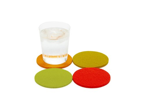 Graf and Lantz Round Coaster 4 Pack