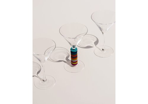 Graf and Lantz Hexagon Wine-O's Set of 12