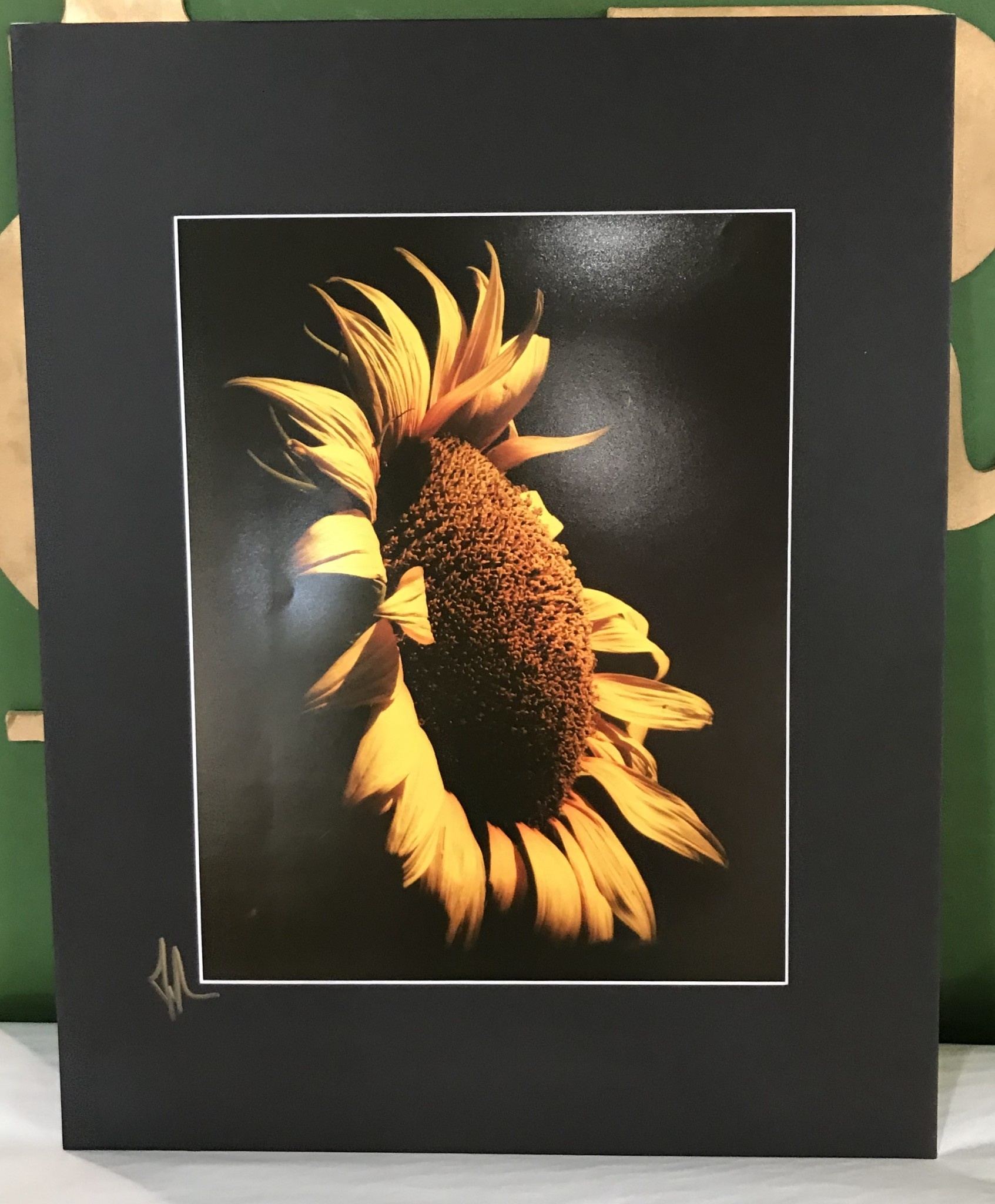 Drone-tography Drone-tography Sunflower #1 11x14 Print