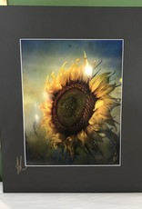 Drone-tography Drone-Tography Sunflower 11x14 Metal Print