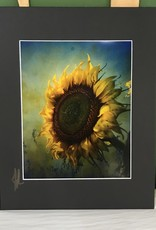 Drone-tography Drone-tography Antique Sunflower 8x10 print