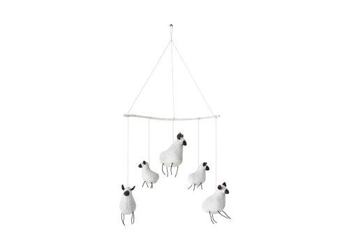Creativeco-op Sheep Mobile