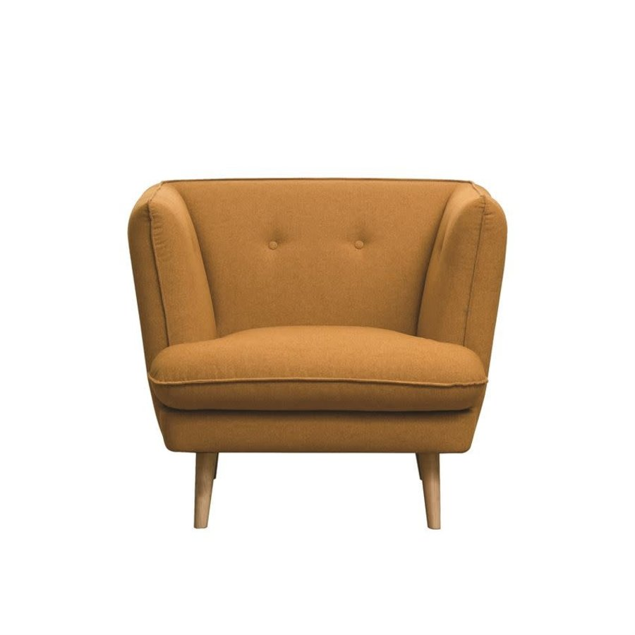 Pumpkin Upholstered Chair