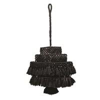 Black Macrame Canopy