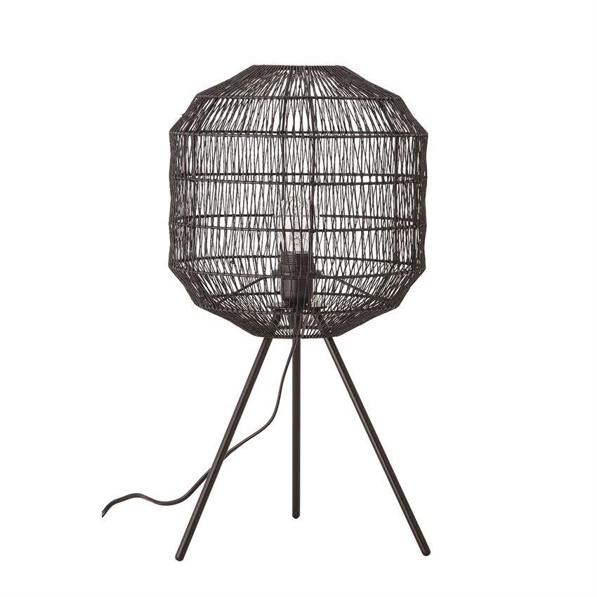 Creativeco-op Black Paper Shade Lamp