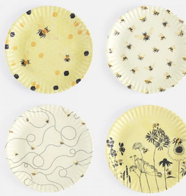 "Onehundred80degrees Busy Bees by Debbie Taylor-Kerman ""Paper"" Plates"