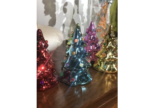 "Onehundred80degrees Brite Lights 5.5"" Ceramic Tree"