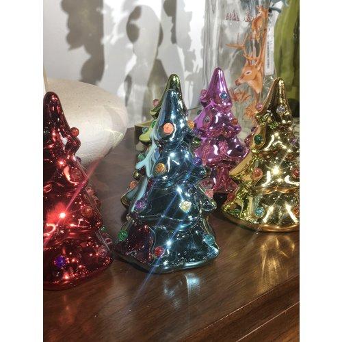 """Onehundred80degrees Brite Lights 5.5"""" Ceramic Tree"""
