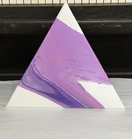 "Acrylic Creations By Jessica Kilpatric Acrylic Creations- 16"" Triangle"