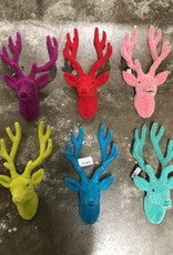 "Onehundred80degrees Neon Retro Deer Bust 12"" Wall Mount"