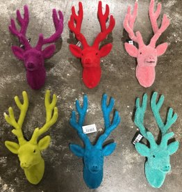 "Onehundred80degrees Neon Retro Deer Bust 12"" Wall Mount"