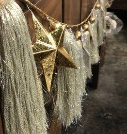 Onehundred80degrees Gold Star Garland