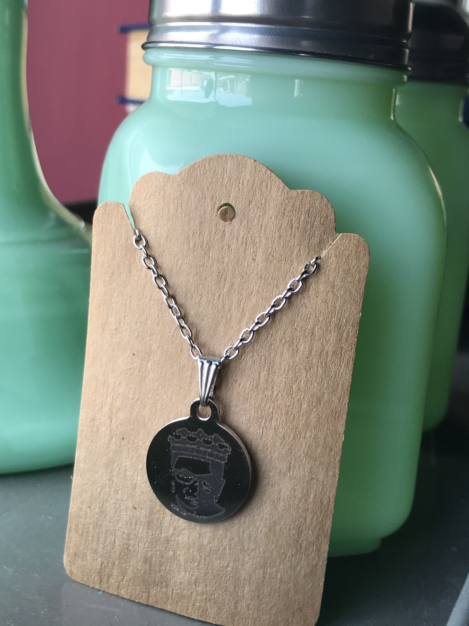 ICTMakers Stainless Steel RBG Necklace