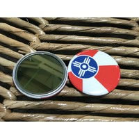 ICT Flag Compact/Pocket Mirror