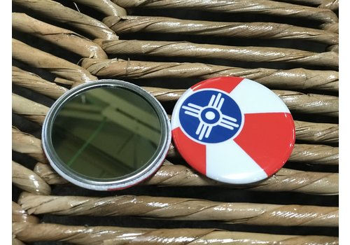 ICTMakers ICT Flag Compact/Pocket Mirror