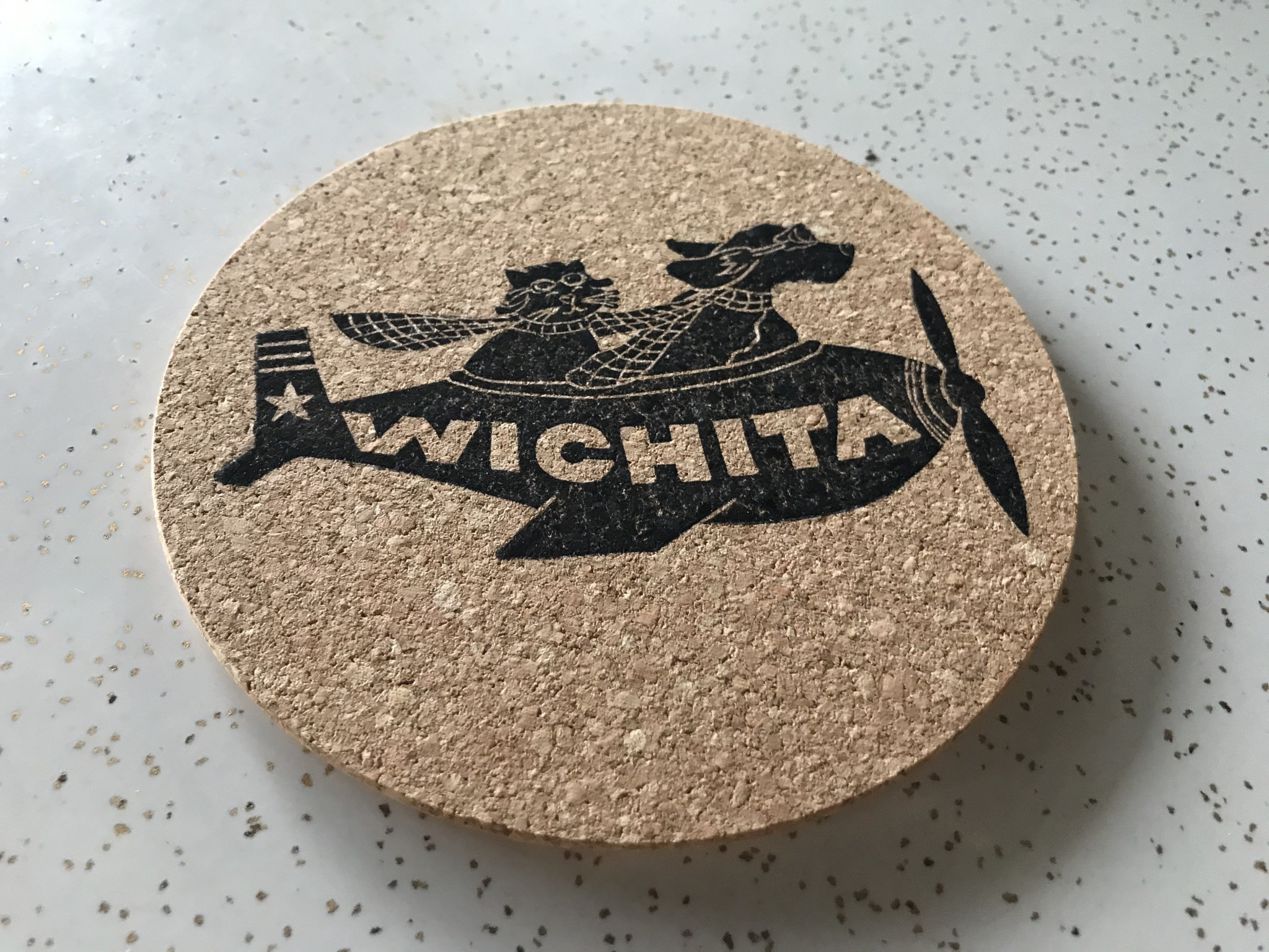 ICTMakers Cork Trivet