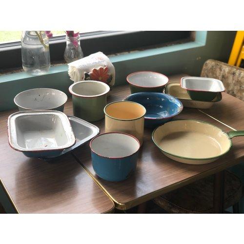 Creative Co-Op Assorted Vintage Tableware