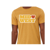 Heartlandia by Gardner Design Midwest Love Tee