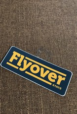 Threadbare Goods Flyover Decal