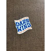 Darn Wind Decal