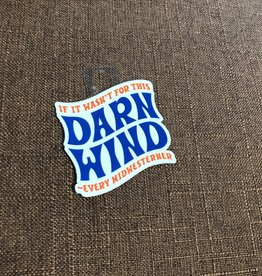 Threadbare Goods Darn Wind Decal
