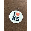 I Bison KS Decal