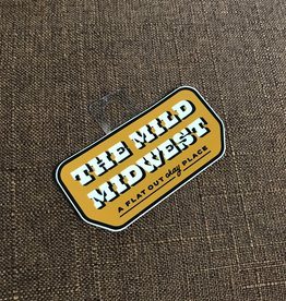 Threadbare Goods The Mild Midwest Decal