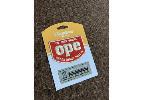 Threadbare Goods OPE Patch