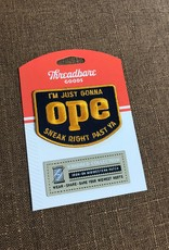 Threadbare Goods OPE Patch