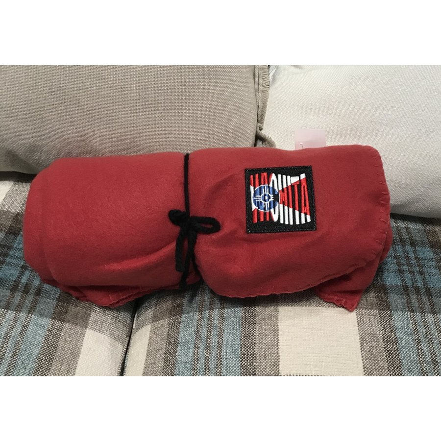 ICT Red Patch Throw