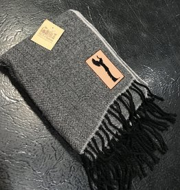 ICTMakers Fringe Knit Scarf