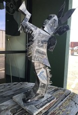 Tina Kelley Designs Extra Large Paper Mache Keeper- Wichita remembered