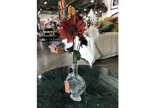 Thistlewhite Designs Orange Sunshine Bouquet w/ Vase