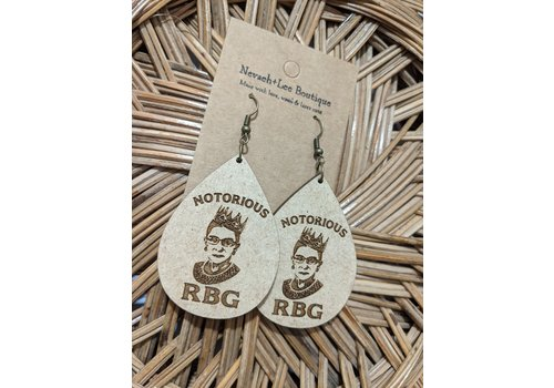 nevaeh+lee boutique RBG Earrings Teardrop