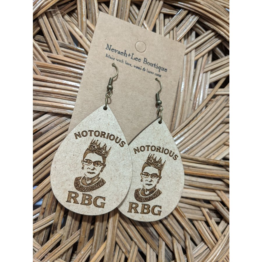 RBG Earrings Teardrop