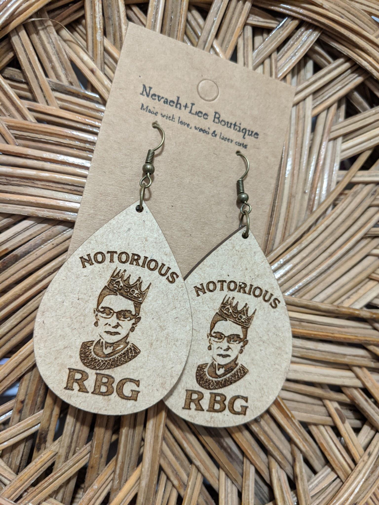RBG Earrings Teardrop