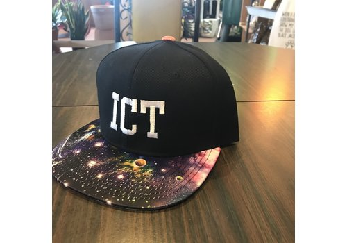 Aidee Gandarilla ICT Print Flat bill Hat