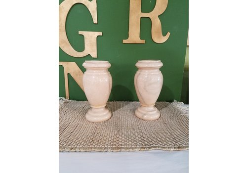 The Workroom Vintage Marble Vase